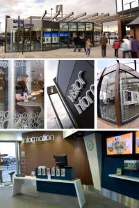 bwd designs Cheshire Oaks Visitor Centre