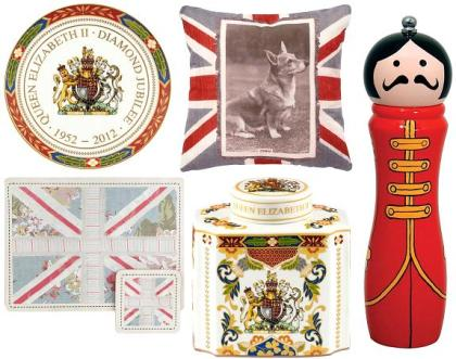 Diamond Jubilee themed home products from Debenhams
