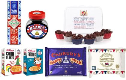 Diamond Jubilee edition food products