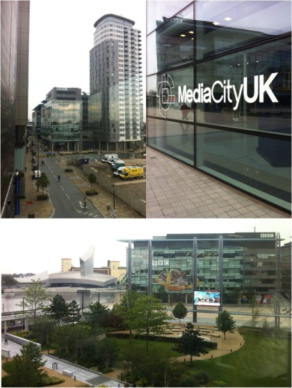 a look round Media City UK