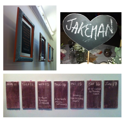 examples of chalkboards we have come across