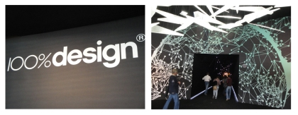 100% Design design show logo and new tunnel entrance
