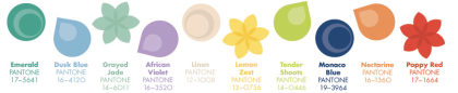 Pantone Fashion Colour Report Spring/Summer 2013