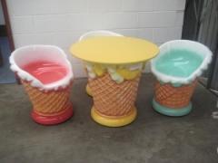 Ice Cream Furniture Set