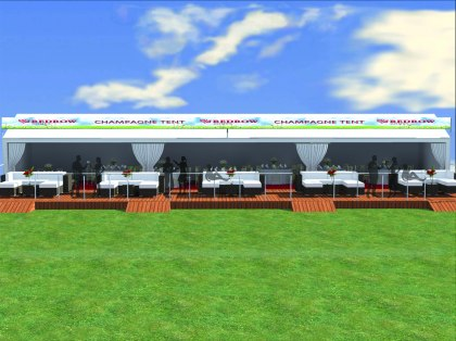 3D graphic for Lytham Prom