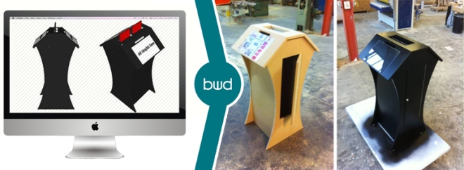 CAD to production bwd design agency Lancashire