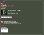 eva voting Creative Industry Category