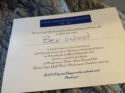 Bev Wood Invite