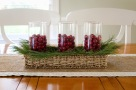 stylish-and-easy-christmas-centerpieces-design-example-to-make-with-glass-and-bamboo-wicker-basket