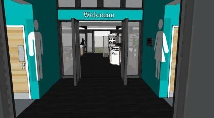 Entrance lobby, Boat Museum, Ellesmere Port