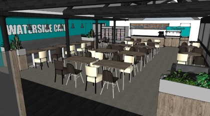 Cafe design and layout